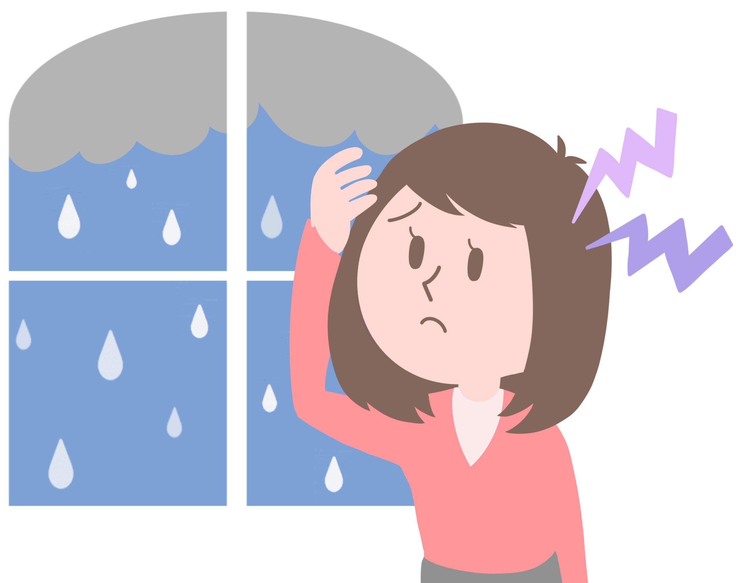 片頭痛気象病アロマ